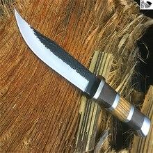 PEGASI UN tipo di forgiatura manuale 440C allaperto coltello da immersione coltello pieghevole per la protezione del corpo di frutta della lama della giungla della lama di sopravvivenza