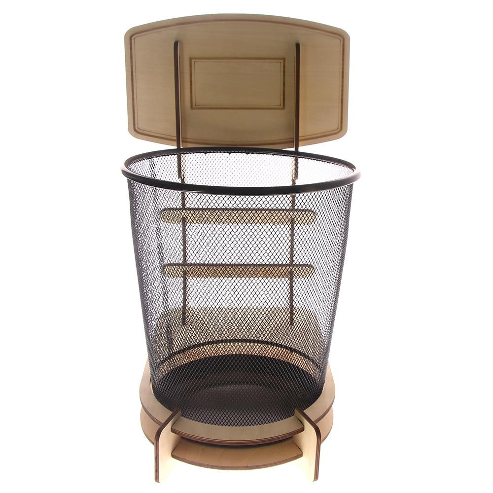 Ev ve Bahçe'ten Atık Kovaları'de 1 adet yaratıcı basketbol standı çöp sepeti basketbol çöp kutusu Wastebasketball çöp sepetleri ofis Ashcan title=
