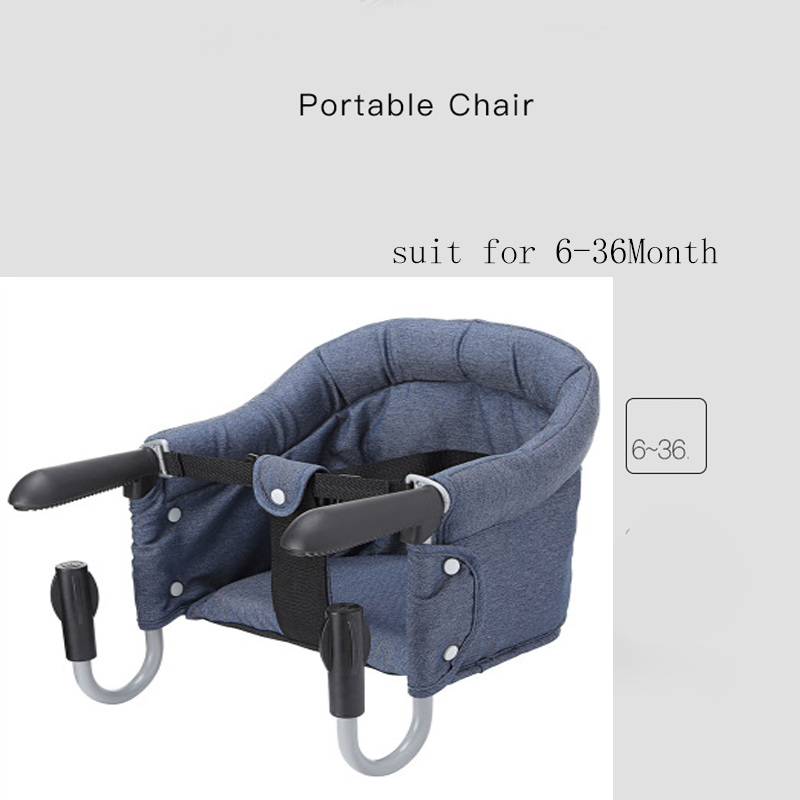 Купить с кэшбэком baby chair portable folding seat sling multifunction infant product dining baby armchair sitting chair for kids feeding chair