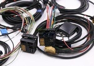 Image 2 - Audi için A4 B8 A5 B8 Q5 8R Güncelleme YÜKSELTME kurulum MMI Sistemi Tel kablo Demeti ve gps anten ve Mikrofon