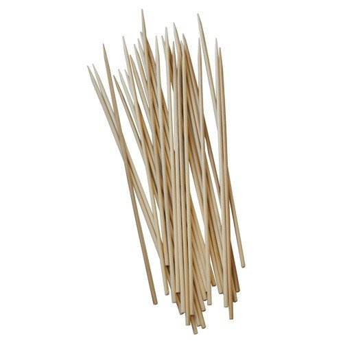 2 Packages 11.8 BBQ Skewers Sticks Bamboo Utensil Barbecue (about 40-50 pieces per package)