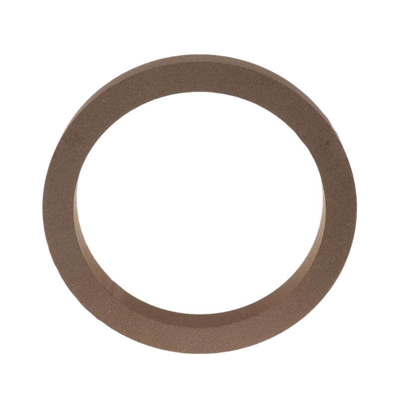 2PCS Wood MDF Speaker Spacer Mounting Rings 6.5