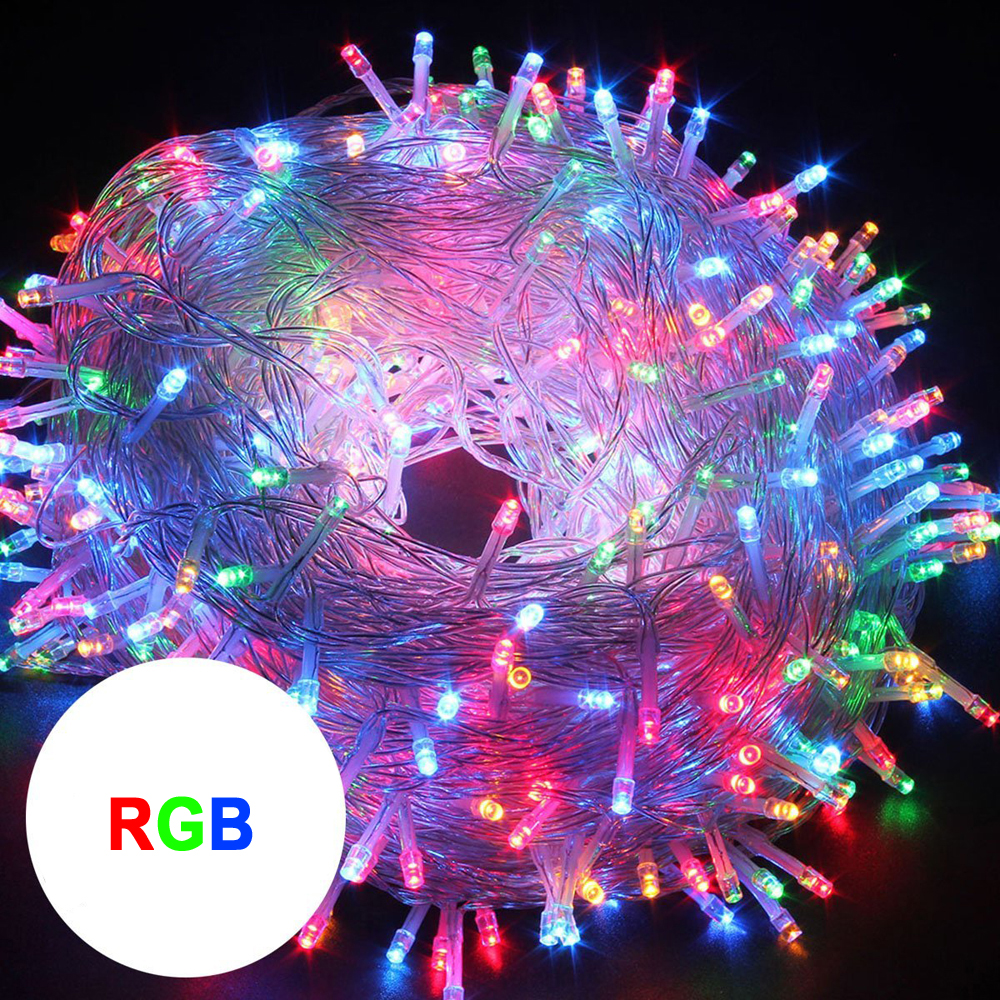 10M 20M 30M 50M LED streng Fairy light ferie Patio Christmas - Ferie belysning - Foto 2