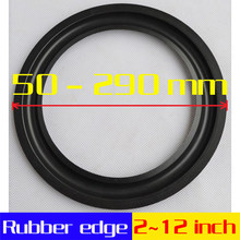 HI-FI DIY LIVE 4 5 6.5 7 8 10 12 inch (100~300mm) woofer Speaker Repair Parts Accessories Rubber edge Folding Ring Subwoofer(China)