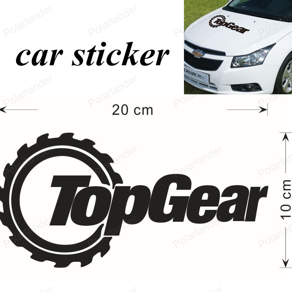Cool car sticker designs - Free Shipping Car Styling Accessories Sticker Decal Text Black Color Cool Creative 20 10cm Topgear