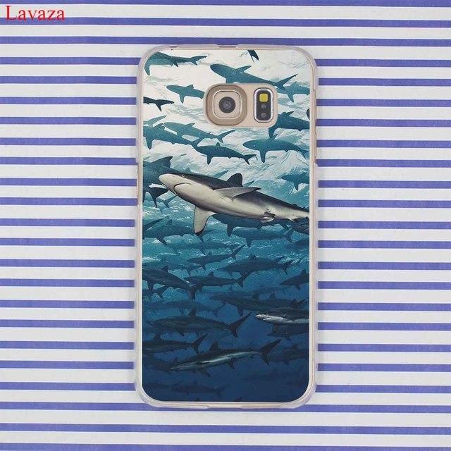 Lavaza ocean Whale Sharks fish Phone Case for Samsung Galaxy S20 Ultra S10E S10 Lite S6 S7 Edge S8 S9 Plus A51 A71 A81 A91