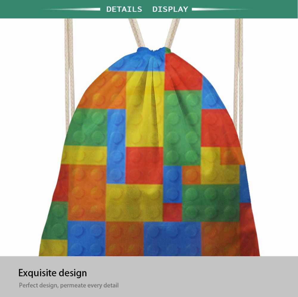 INSTANTARTS الليمون و أوراق تصميم المرأة سلسلة صغيرة عارضة الرباط حقيبة للبنات بنين أزياء أطفال مدرسة حقيبة كيس