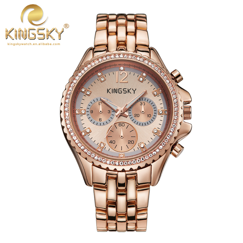 Watch Women Quartz watch New Arrival KINGSKY Women New ... Fastrack Watches For Women New Arrivals