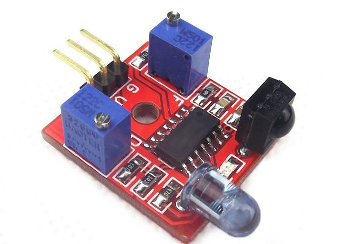 Freeshipping Smart car infrared sensor obstacle avoidance module