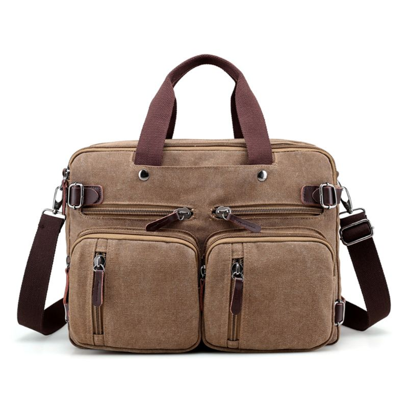 Laptop Backpack Messenger Bag Multifunction Briefcase 15 Inch Laptop Bag For Man