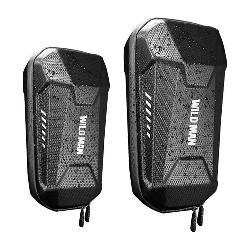 Universal scooter elétrico cabeça lidar com saco saco de casca dura eva para xiaomi m365 es1 es2 es3 es4