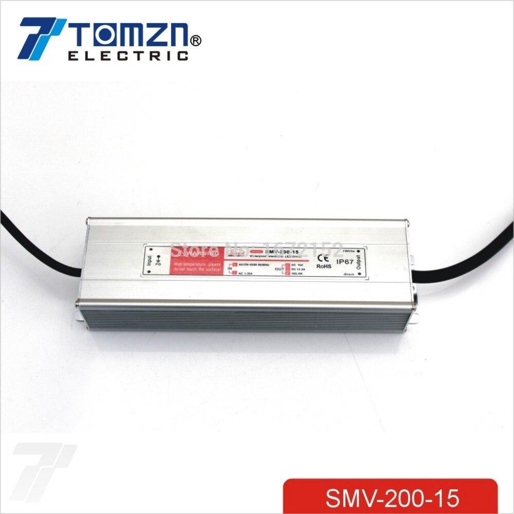 200 W 15 V 13.3A esterno Impermeabile Uscita Singola Switching alimentatore per LED200 W 15 V 13.3A esterno Impermeabile Uscita Singola Switching alimentatore per LED