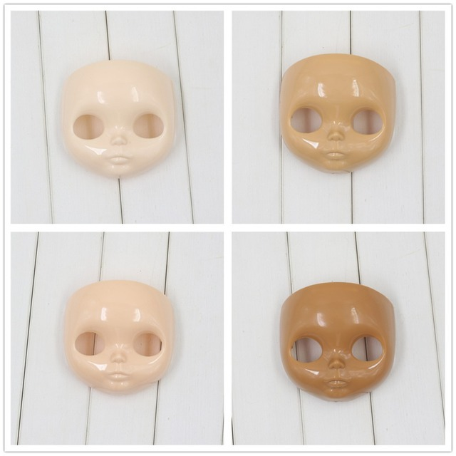 Factory Neo Blythe Doll Faceplate RBL Mold No Makeup Free Gifts