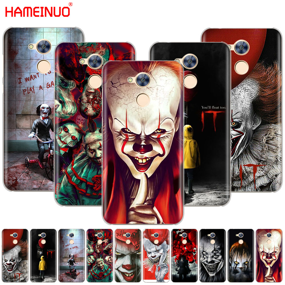 HAMEINUO The Clown Horror IT Cover phone Case for Huawei Honor 10 V10 4A 5A 6A 7A 6C 6X 7X 8 9 LITE