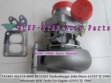 Free Ship TA3401 466334 466334-0008 466334-0005 RE26291 RE26120 Turbo For John Deere Tractor 6359T TJ 5900 6414T 6.8L 122KW