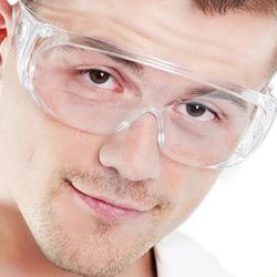 Новые прозрачные вентилируемые защитные очки Защита глаз Защитная лаборатория противотуманные очки