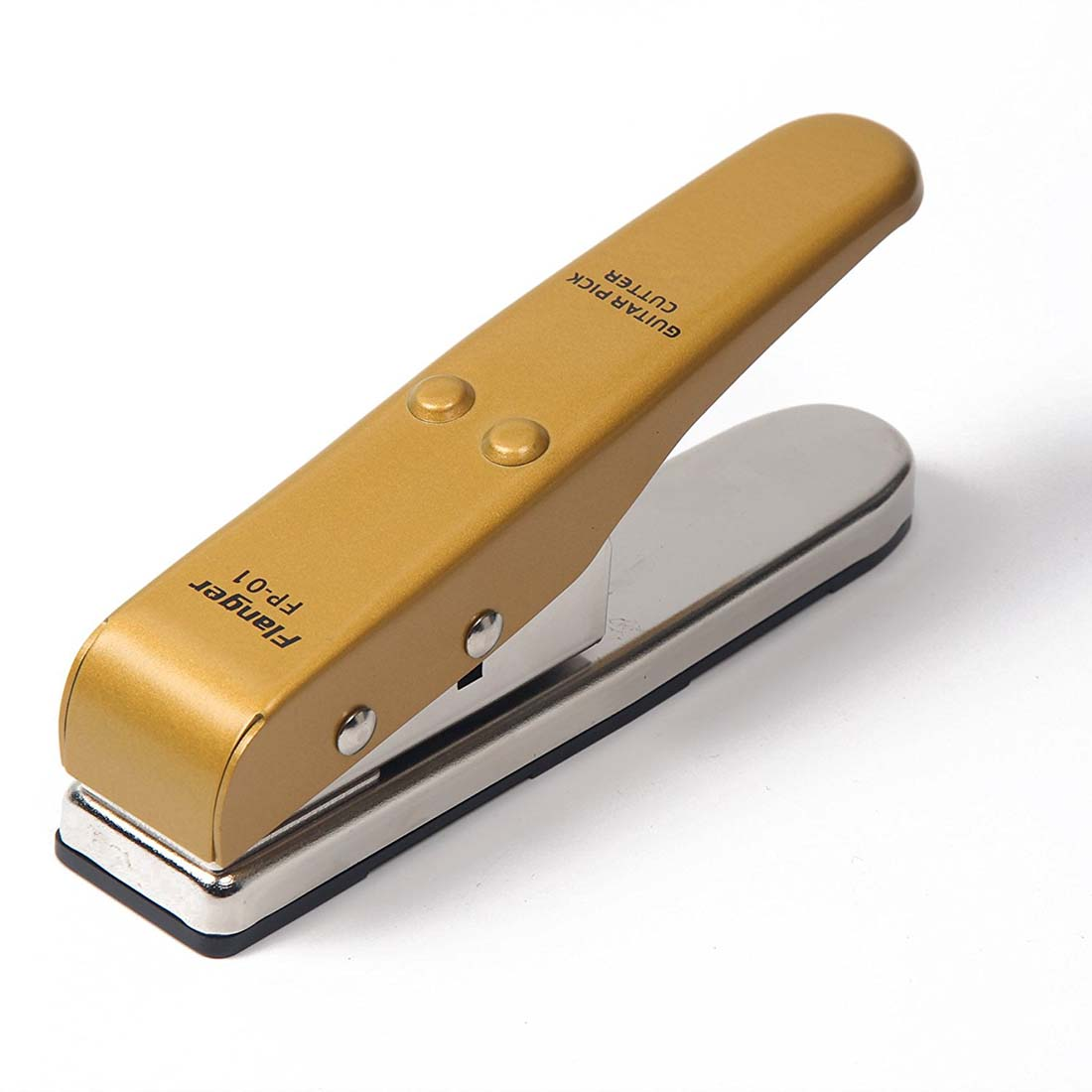 Signstek Porfessional Portable Flanger Pick Punch Guitar Pick Plectrum Maker Pick Cutter *Gold *
