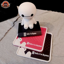 New design Car Styling baymax non-slip Mat Accessories Anti-slip Sticky Mats 4 color to chose car products