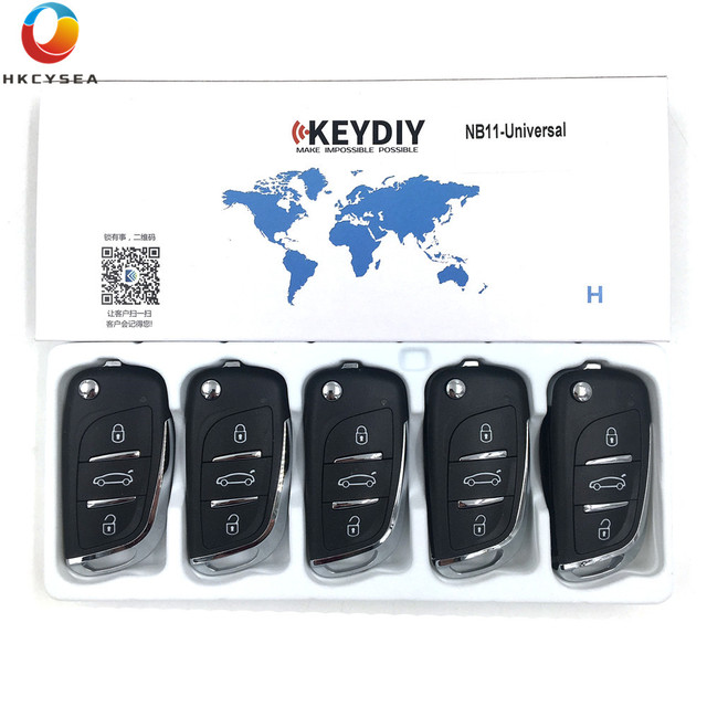 US $53 28 11% OFF|5PCS/LOT 3 Button KD NB Series Universal Multifunctional  DS Style Remote Work with URG200 KD900 KD200 KD X2 Machine -in Car Key from