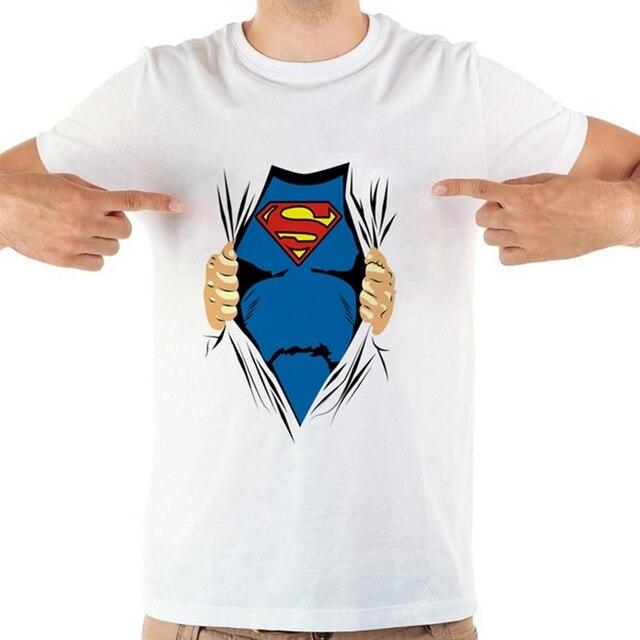 superman t shirt with collar
