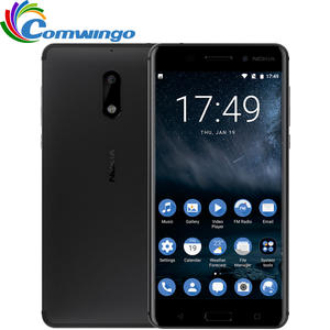 Nokia 32G RAM 3000 mAh 4G LTE Mobile Phone nokia6 2017 4G Android 7.0 Octa Core