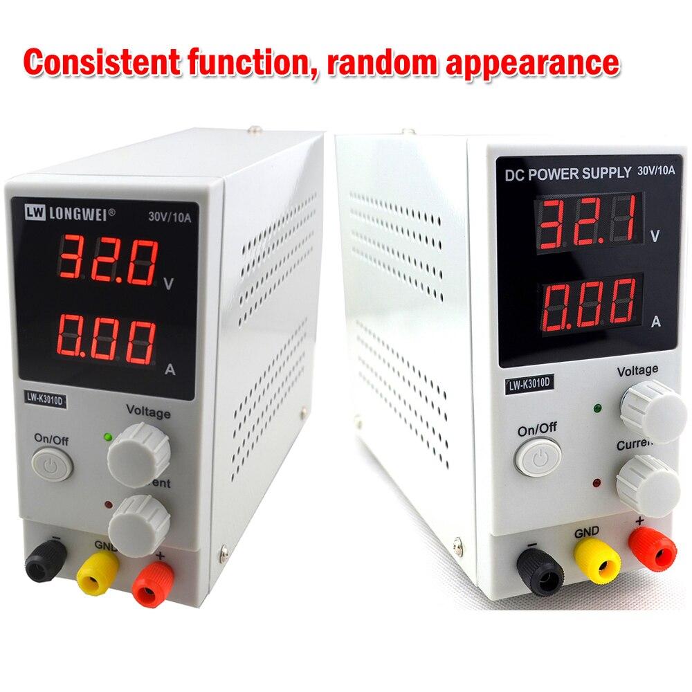 Mini alimentation numérique réglable DC 30V 10A laboratoire alimentation à découpage 110 v-220 v K3010D ordinateur portable réparation de téléphone - 2