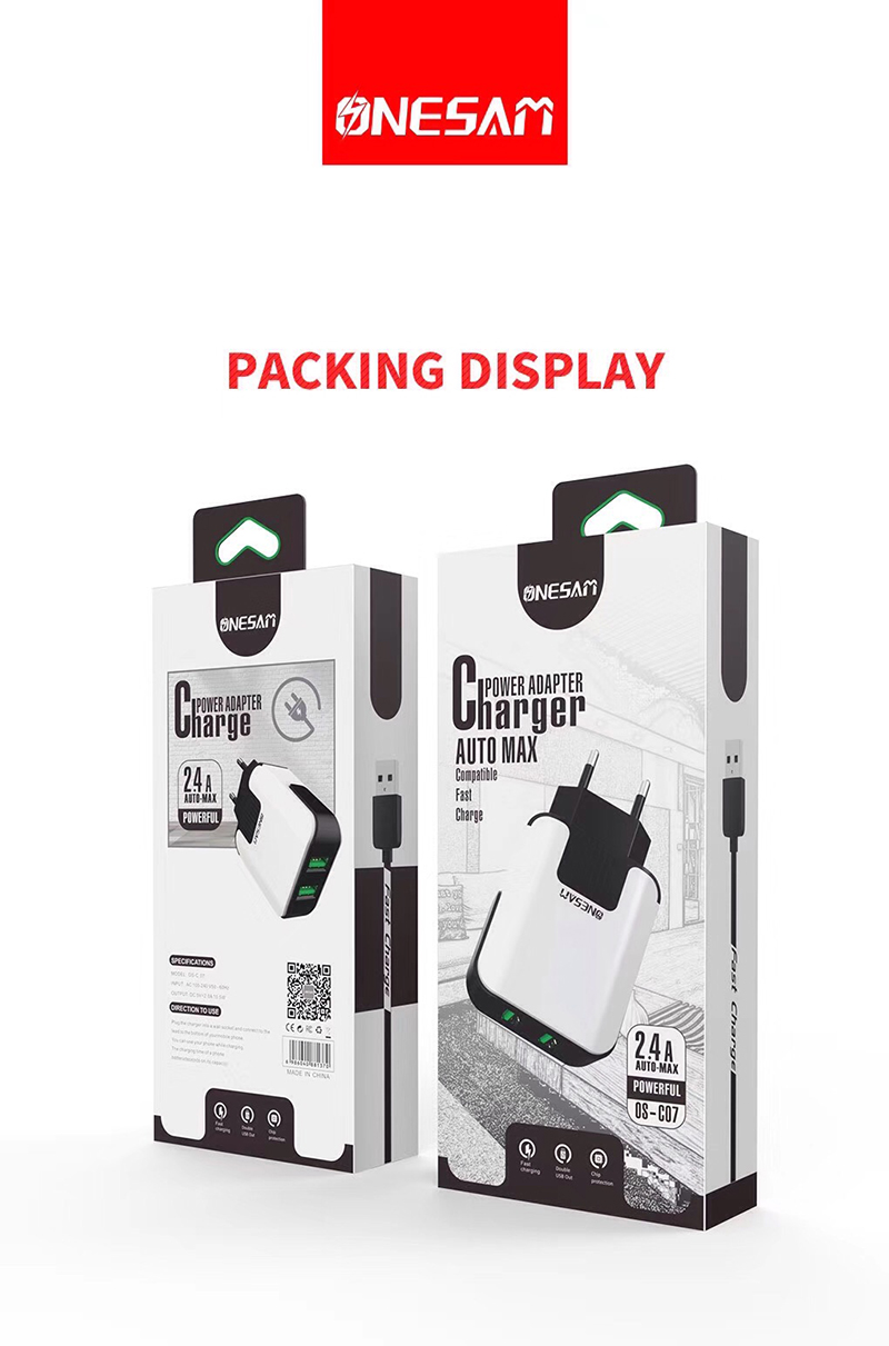 -C07 phone charger wall charger ONESAM-2