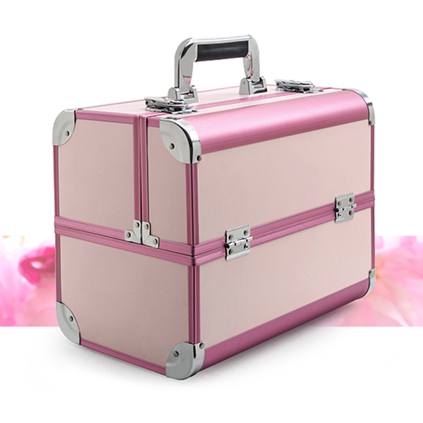 Women Large Capacity Travel Makeup Bags Box Portable Professional Cosmetic Case Bag For Cosmetics Manicure Cosmetology Suitcase