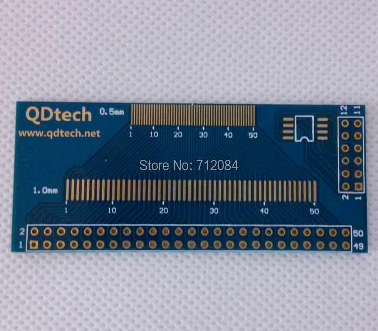 LCM TFT touch IC adapter plate, universal test board, LCD touch screen Multi-Purpose Test Board
