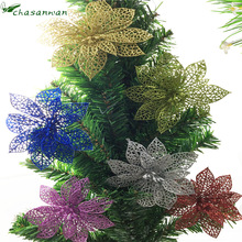 10pcs Artificial Flowers flowers for decoration Wedding Decoration mariage New Year home decoration accessories valentines day.Q