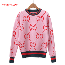 a4d61193b Buy cute pink sweaters woman and get free shipping on AliExpress.com