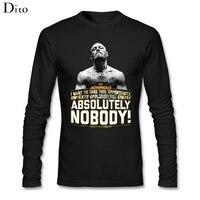 Men S Cool MMA Conor Mcgregor T Shirt Custom Long Sleeve Birthday S Tshirt Male Men