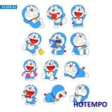 Anime Doraemon Emoji Cartoon Stickers for Girl Children Kids Gift DIY Letter Diary Scrapbooking Stationery Pegatinas Stickers