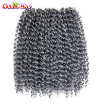 Buy bohemian hair extensions and get free shipping on aliexpress 3 bundles ombre grey jerry curly hair extensions bohemian curly freetress crochet braid hair deep wave pmusecretfo Gallery