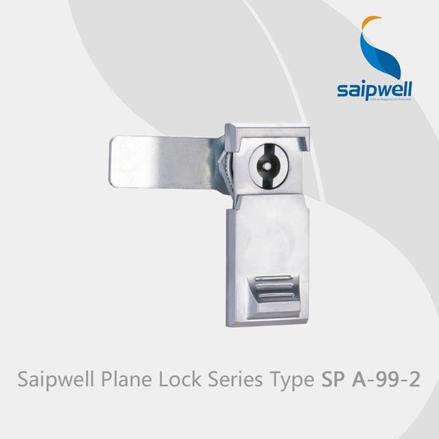 Us 350 27 Offsaipwell Spa 99 2 Lock Voor Deur Glas Zinklegering Deurslot Metalen Kast Handvat Slot Industriële Vierkante Key Lock 10 Pcs Pack In
