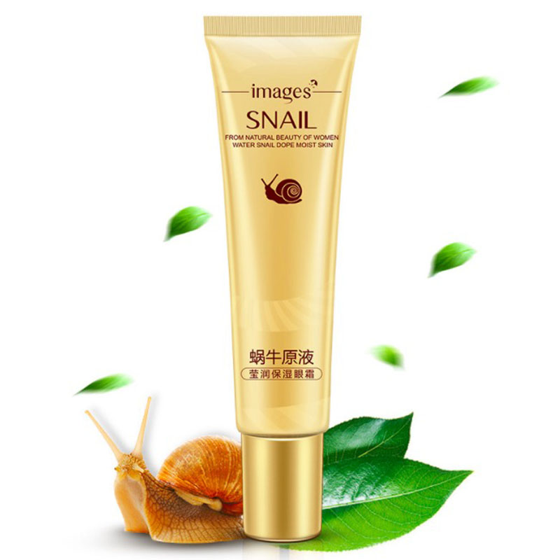 New Snail Extract Eye Cream Anti-Aging Anti Puffiness Eye Care Essence Cream For Remover Dark Circle Whitening Firming Skin Care