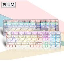Schnelles Freies verschiffen Plum 84 87 108 RGB Edition Nicht Hintergrundbeleuchtung Edition 35g 45g Realforce Struktur Kapazitiven Tastatur