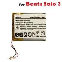 Batería de 3 7 V para auriculares Beats Solo 3  reemplazo de acumulador recargable de polímero de litio [AEC552535]