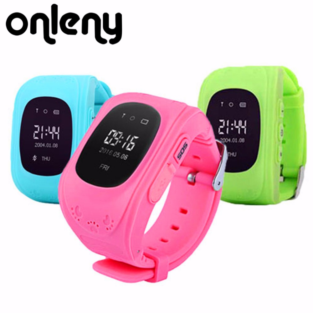 Onleny Smart Watch Q50 Accurate Locator LBS StationTracker SOS Emergency Anti-Lost Smart Wrist for Android App PK Q80 Q90 Q60
