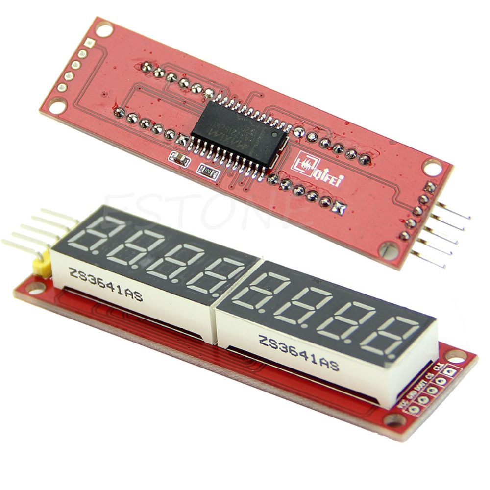 Basic code for using Maxim MAX7219/MAX7221 with Arduino