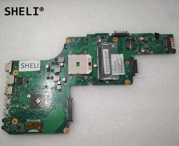 SHELI For Toshiba L850D C850D C855D laptop Motherboard notebook pc mainboard V000275400 6050A2492001-A03  CPU 218-0755097 ST19