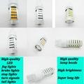 2pcs Car led T20 W21W 7440 7443  WY21W  5630 5730 SMD car Backup Reserve Lights auto brake light fog lamps 12V