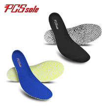 PCSSOLE Breathable Insole Orthopedic Sports Deodorant Shock Lightweight Unisex Fitness Accessories C1007
