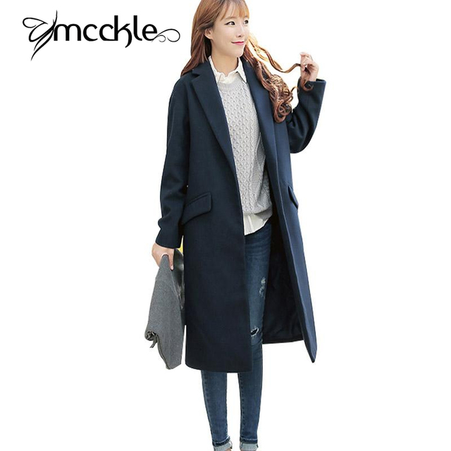 Aliexpress.com : Buy Long Woolen Coats For Women Autumn Winter ...