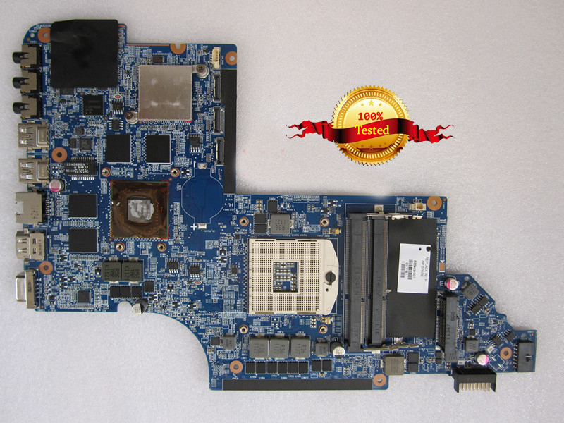 1GB Laptop motherboard fit for hp DV7-6000 655488-001 Intel Non-Integrated HM65 fully tested 60 days warranty top quality for hp laptop mainboard envy13 538317 001 laptop motherboard 100% tested 60 days warranty