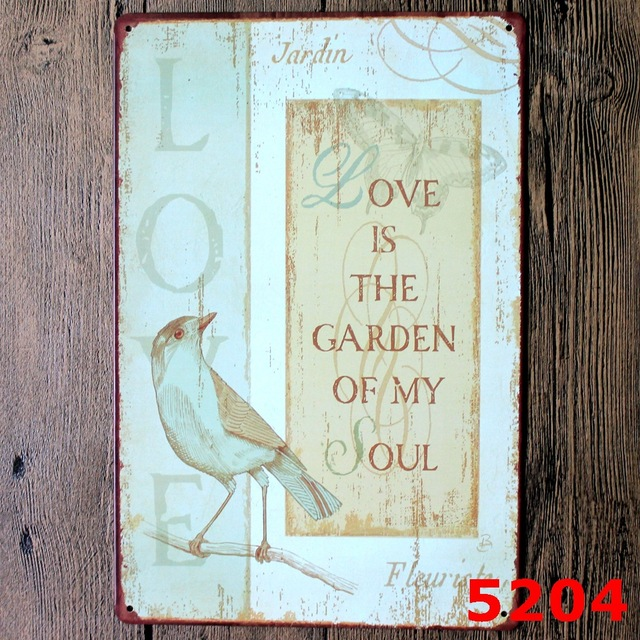 IS THE GARDEN OF MY SOUL TIN SIGNS Metal Plaque Europe Style ... Design Garden Club Plaque on key club designs, snow ski club designs, photography designs, garden design dallas texas, running club designs, french club designs, ceramics designs, lions designs, health club designs, fashion club designs, car club designs, science club designs, book club designs, boat club designs, art designs, drama designs, events designs, 4-h club designs, nhs designs, fitness club designs,