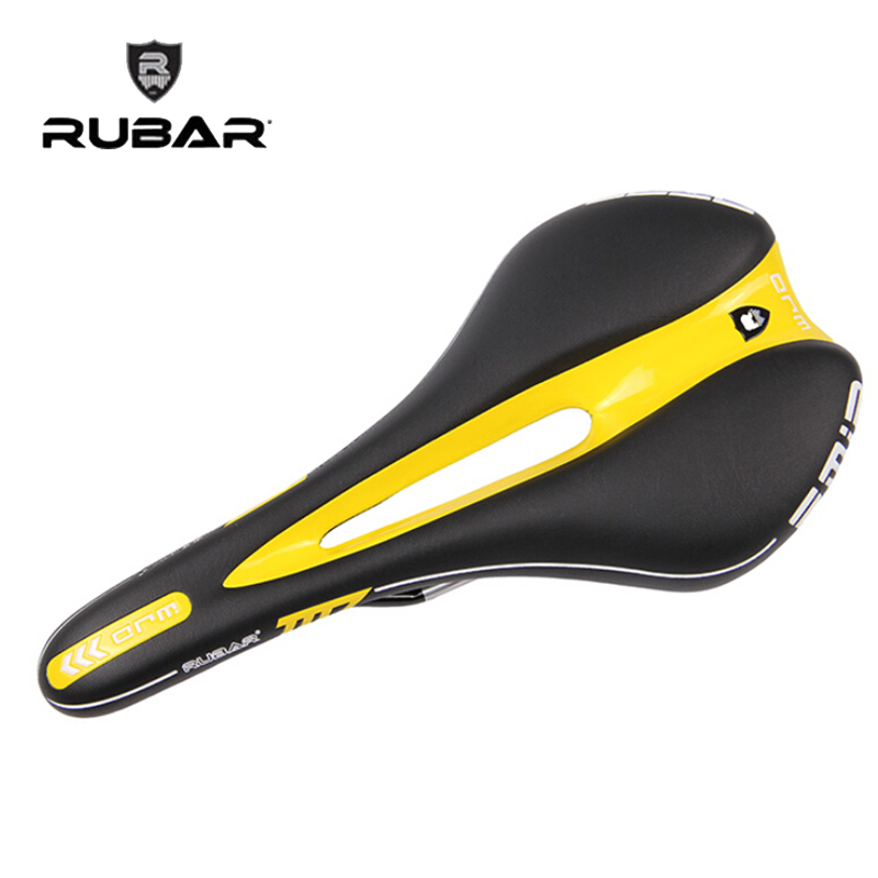 2017 new IN STOCK [Mr_Ride] RUBAR Emir Road/MTB Bike Saddle Black/Yellow