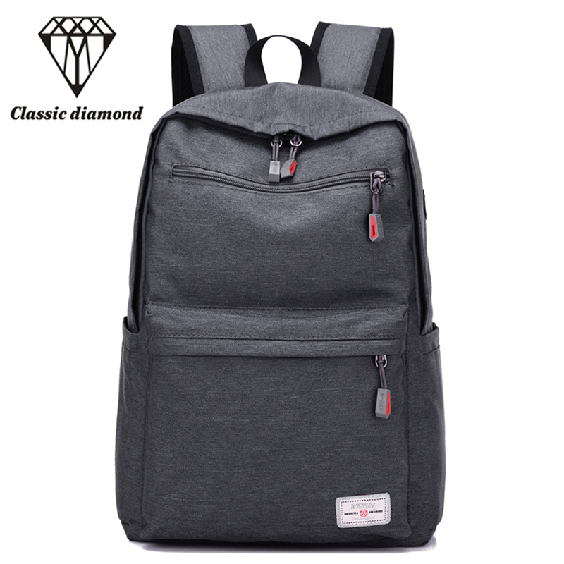 2017 Men's Nylon Bag School Backpack For Teenagers Fashion Casual Rucksack Male Big Laptop Travel Bags Daypack Bookbags Mochila