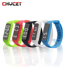 CD5 Sport Smart Watch Pedometer LED Children Band Kids Temperature Fitness Monitor Digital Wristband Sleep Monitor bracelet