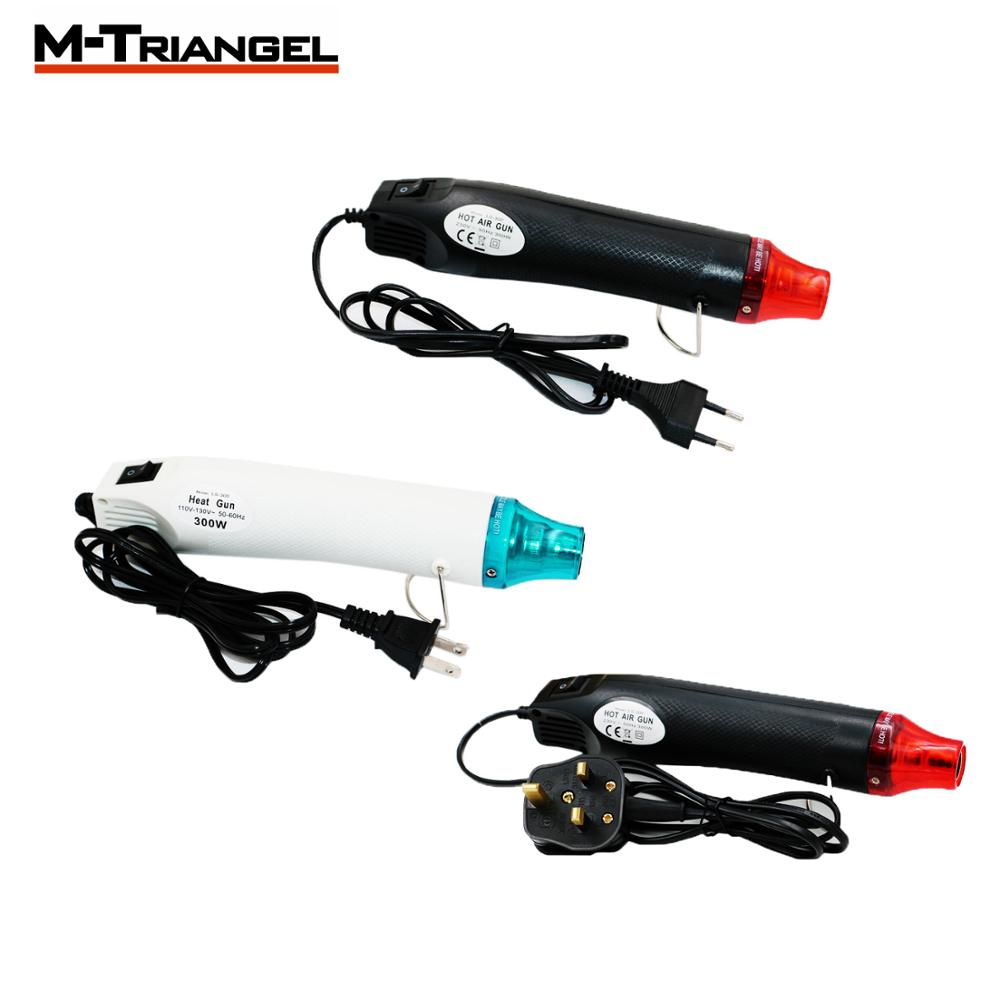Hot Air Gun With US UK EU Plug M-Triangel 110V/220V/230V Heat Gun Electric Power Tool 300W DIY  Electric Power Tool Seat Shrink